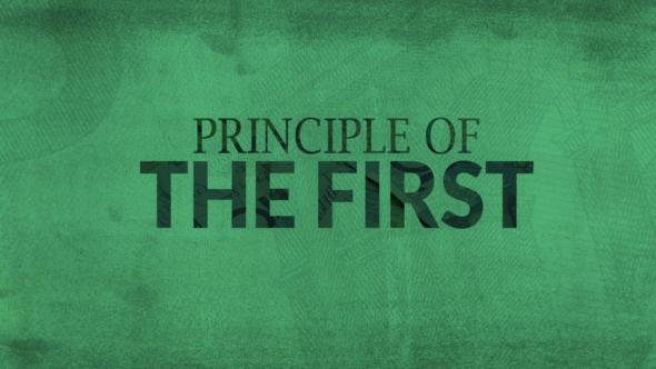 Principle Of The First