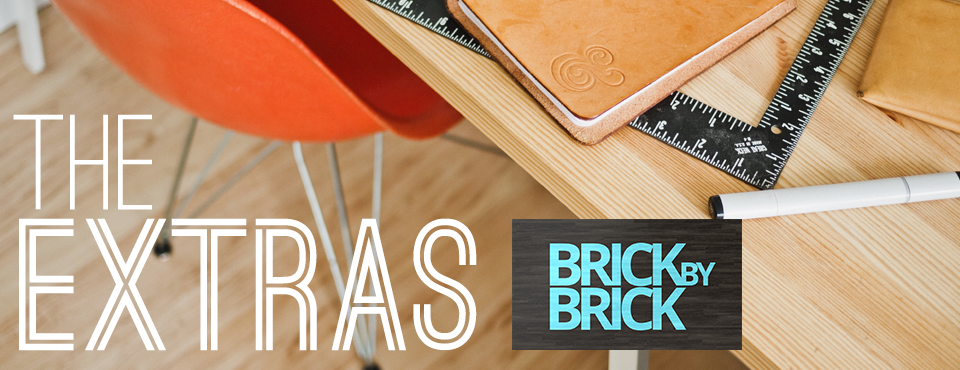 The Extras: Brick By Brick Series