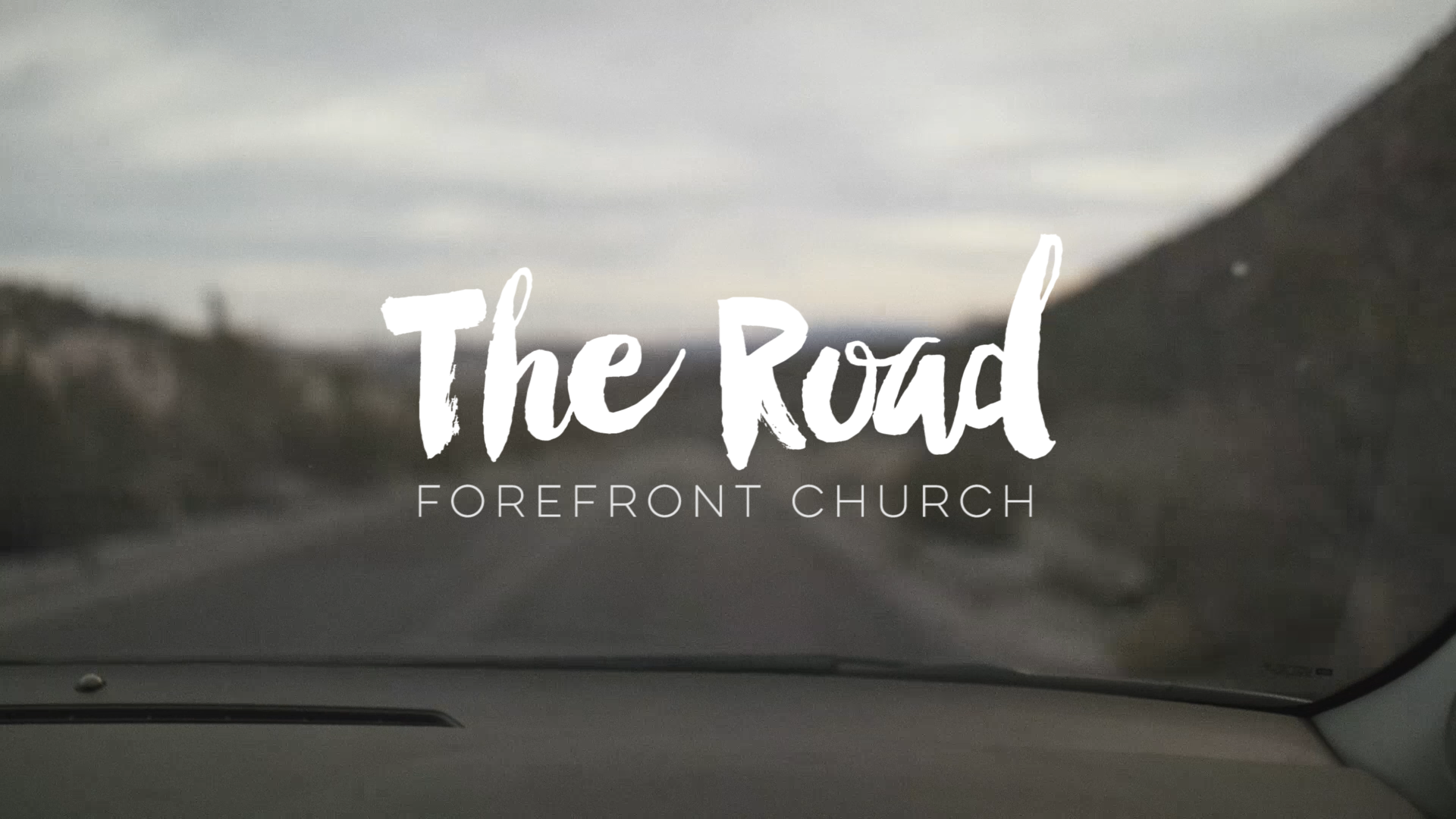 The Road, Faith And Belief?