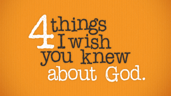 4 Things I Wish You Knew